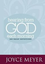 NEW Hearing from God Each Morning 365 Daily Devotions by Joyce Meyer Devotional