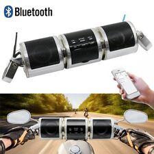 Neu Wasserdichte FM Radio MP3 USB Bluetooth Motorrad Lautsprecher Speaker Audio