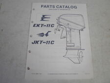 1986 johnson evinrude outboard motor parts catalog class A racing 15