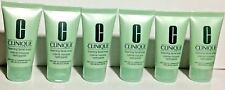 Clinique Foaming Facial Soap Very Dry to Comb. Oily Skin 6 tubes x 1oz/30ml each