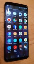 Samsung Galaxy S8 SM-G950F 64GB Midnight Black *TEILDEFEKT* Glasschaden