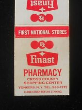1970s Finast Pharmacy First National Stores Cross County Shopping Ctr Yonkers NY