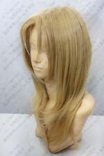 183 Guilty Crown TSUTSUGAMI GAI Linen Blond Short Cosplay Wig free wig cap