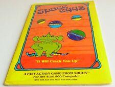 Atari XL:  Space Eggs - Sirius Software 1980