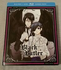 Black Butler Complete Season 1 Blu-ray DVD Combo Pack NEW (See Description)
