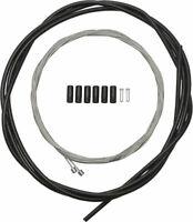 Shimano Road SP40 Derailleur Cable Set, Black