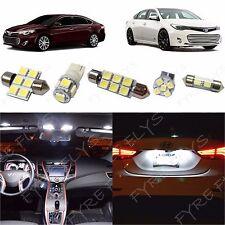 9x White LED lights interior package kit for 2013 - 2014 Toyota Avalon TA2W