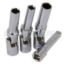 4 PEZZI 3/8 DRIVE CANDELA Set chiavi Giunto universale 8, 10, 12mm ACCENSIONE