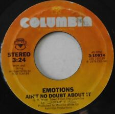 "EMOTIONS - Aint No Doubt About It - 7"" Single US PRESS"