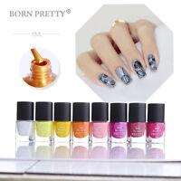 6ml Nail Stamping Polish Nail Art  Stamp Template Varnish Born Pretty
