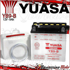 BATTERIA YUASA YB9-B APRILIA 125 RS-EXTREMA-PISTA 1998 1999 2000 2001 2002 2003