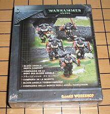 40k Rare oop Vintage Metal Space Marine Blood Angel Death Company Box Set NIB