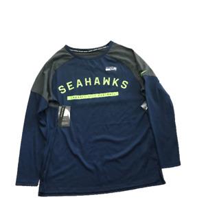 New NWT Seattle Seahawks Nike Dri-Fit Tailgate Women's Small Long Sleeve Shirt