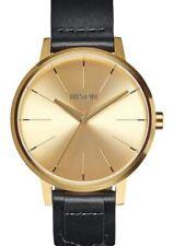 NEW Nixon Kensington Leather Gold/Bridle | AUTHORIZED DEALER