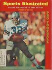 DALLAS COWBOYS WALT GARRISON SPORTS ILLUSTRATED SEPT. 18 1972 FOOTBALL COVER