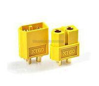 1 Pair XT60 RC Lipo Battery Bullet Connector Plug Male / Female