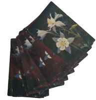 """Lot 14 Vintage """"The Columbine"""" Colorado State Flower Postcard by H.H.T. Co."""
