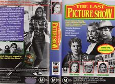 THE LAST PICTURE SHOW - VHS - PAL - NEW - Never played! - Original Oz release