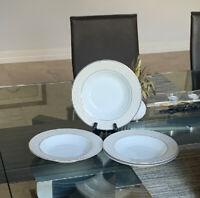 MIKASA Parchment Set of 4 Rimmed Bowls
