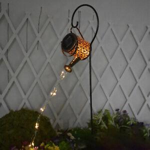 Solar Watering Can Light Firefly Bunch Lights Waterproof Waterfall String Lights