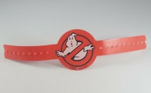 Vintage 1984 The Real Ghostbusters Proton Pack Red Arm Band Wristband Kenner Toy