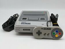 Super Nintendo SNES PAL Console | Official Controller | All Leads | TESTED