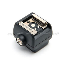 Adaptateur Convertisseur Standard ISO Griffe Sabot Hot Shoe à Sabot pour boîtier