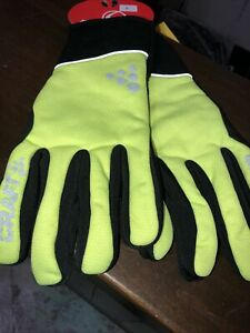 Craft Sportswear Storm Wind/Waterproof Bike XC Ski Fleece Lined Glove small
