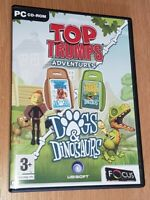 Top Trumps Adventures Dogs & Dinosaurs PC Game Very Good Condition Family Fun