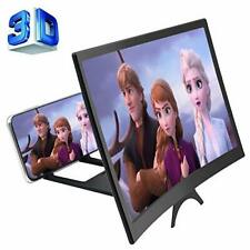 12'' 3d Phone Screen Enlarger Curved Magnifier for Cell HD Amplifier Folding MOV