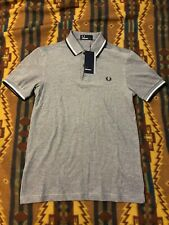 Fred Perry Short Sleeve Twin Tipped Polo *Brand New* XS