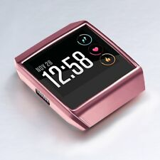 For Fitbit Ionic Frame Cover Case Accessory Protective Pink Shockproof Rugged