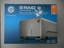 G-Technology G-RAID with thunderbolt  8TB Hard Drive