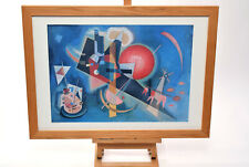 Im Blau By Kandinsky Abstract Modern Art 1925 Quality Print Framed Kings Gallery