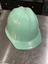 Original Teal Bullard 502 Aluminum Hard Boiled Hard Hat Dent Free