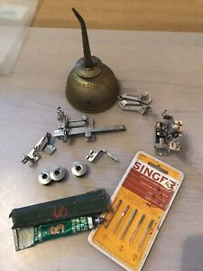 vintage singer sewing machine accessories