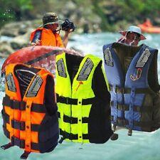 Adult Kids Life Jacket Aid Vest Kayak Ski Buoyancy Fishing Sail Boat Watersports