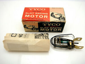Vintage Tyco Inline Slot Racing Motor In Box 12 Volt Tested Operable