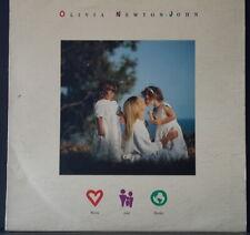 OLIVIA NEWTON-JOHN - WARM AND TENDER 1989 INTERFUSION RECORDS AUS VINYL