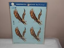 Vgt 1977 Decoral Handpainted Waterslide Decal Flying Eagles  A-54 New Old Stock