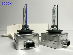 2PCS NEW OEM D1S 6000K 66140 66144 85410 85415 HID XENON HEADLIGHT BULBS SET