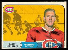 1968 69 OPC O PEE CHEE HOCKEY #48 Larry Hillman EX+ Montreal Canadiens card