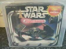 VINTAGE STAR WARS 1983 BOXED AFA UKG DARTH VADER TIE FIGHTER UKG 80 NEW SEALED