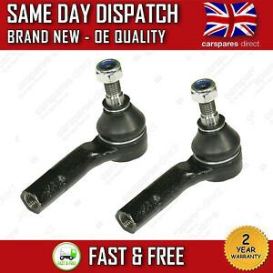 2x SEAT TRACK ROD END LEON MK1 / TOLEDO MK2 98>06 FRONT OUTER TIE ROD END PAIR