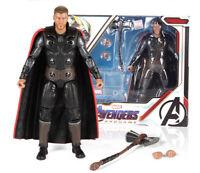 """Avengers: Endgame Marvel Thor  7"""" Action Figure Toys Gift for kids"""