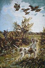 Chien a la Chasse - Decoration murale, tapisserie murale - Chien a la chasse