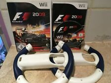 F1 2009 + 2 Wheels for Nintendo Wii Game Complete - Racing Formula 1