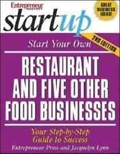 Startup: Start Your Own Restaurant and Five Other Food Businesses : Your...