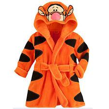 Baby Kids Pajamas Romper Kigurumi Cosplay Costume Toddler Animal Home Bathrobe
