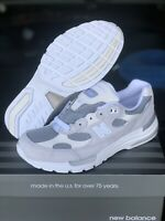 New Balance 992 White Silver M992NC Size 10 Made In USA Brand New Fast Shipping